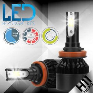 H11 H9 H8 CREE LED Headlight Bulb Kit Low Beam Fog Light 388W 6000K 38800LM