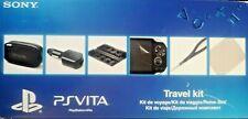 Official PS Vita Starter + kit Nouveau Case étui porte-carte Chargeur Voiture Tissu