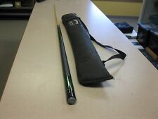 PLAYERS Pool Billiard Table Cue Stick & The Miz carrying case