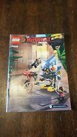LEGO 70629 Ninjago Movie Piranha Attack - Instruction Manual Only