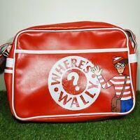 Official Where's Wally Messenger Side Bag Retro VGC