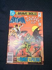 1983 Dc Comics No. 198 The Brave and the Bold Batman and Karate Kid