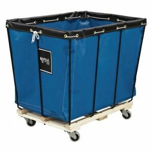 Royal Basket Truck G12-Bbx-Kda-3Unn Knock Down Basket Truck,12 Bu,Blue Vinyl