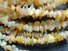 "WELO OPAL CHIPS, 3.5mm wide, 17"" strand, 300 beads"