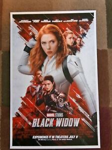 "Black Widow ( 11"" x 17"" ) Movie Collector's Poster Print (T12) - B2G1F"