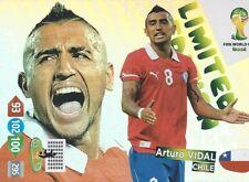 Panini Adrenalyn XL World Cup 2014 Limited Edition Arturo Vidal
