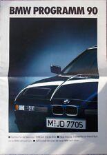 Prospekt BMW Modellprogramm 1990 - 1/90  M 3er E30 5er E34 7er E32 8er E31