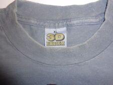 Vintage Genuine 3D Emblem Harley Davidson Eagle XL Tshirt Tee shirt vtg thin FXR