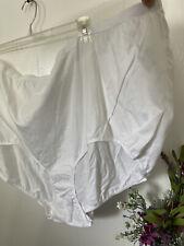Comfort Choice 16 4X 5X White Cotton Brief Underwear NEW LOT OF 8