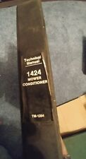 John Deere 1424 Mower Conditioner Technical Manual