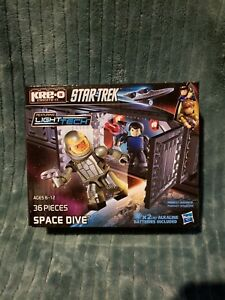 Star Trek Kre-O Light Tech Space Dive 36 Pieces SEALED New Hasbro