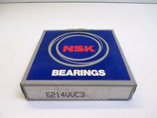 NSK 6214VVC3 DEEP GROOVE BALL BEARING MANUFACTURING CONSTRUCTION NEW