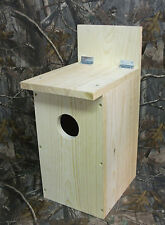 Screech Owl Nesting Box House Kestrel Birdhouse
