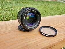 Canon 50mm FD f/1.4 Lens - Made in Japan For Canon AE-1 SLR Camera