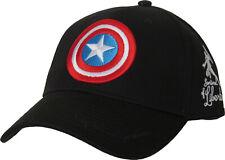 Captain America Sentinal Of Liberty Black Baseball Cap