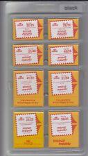 Prinz / Scott Stamp Mounts Assortment 8 Sizes Mix 160 Mounts Clear New Pack
