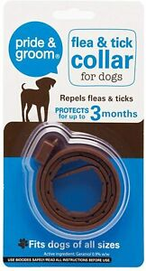 Flea & Tick Collar for Dogs by Pride & Groom