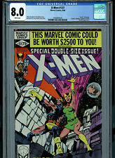 Uncanny X-Men #137 CGC 8.0 1980 Death of Phoenix  Marvel Comic K27