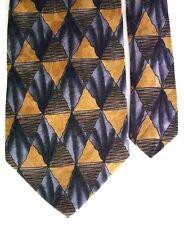 "J. Garcia Men's Silk Novelty Neck Tie Abstract 3 3/4"" x 54"" Short"