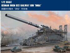 "HOBBY Boss 1/72 82911 GERMAN 80CM NCE Railway gun ""dora"" WWII model kit"