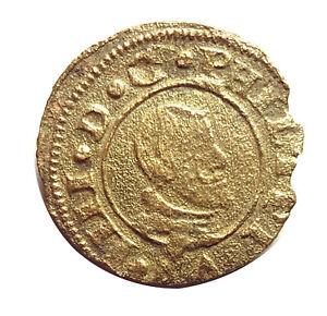 1663 / 16 MARAVEDIS OF PHILIPPUS IV /  FELIPE IV 1663   #PZS70