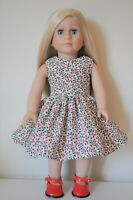 """18"""" Doll Friend for American Girl Doll Our Generation Doll Christmas Dress Shoes"""