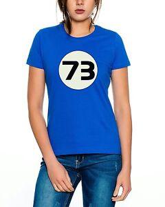 Big Sheldon 73 Nerd Bang Theory Damen T-Shirt