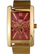 Relojes Minoir-modelo roanne oro/Rose-Automatikuhr, reloj Hombre