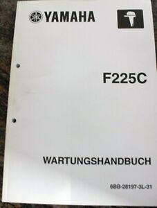Divers Yamaha Wartungshandbücher Pour Hors Bord