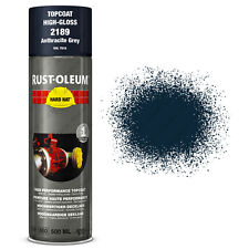 x1 Ultra-High Coverage Rust-Oleum Anthracite Grey Spray Paint Hard Hat RAL 7016