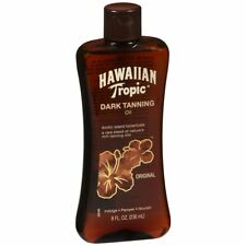 Hawaiian Tropic Dark Tanning Oil Original - 8 OZ (3 Packs)