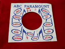"ABC~ ~ VINTAGE ORIGINAL ~ RECORD COMPANY SLEEVE ~ 7"" SINGLE 45 RPM"