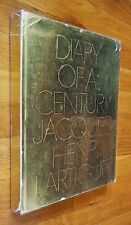 JACQUES HENRI LARTIGUE DIARY OF A CENTURY 1970 HARDCOVER WITH DUST JACKET - NICE