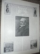 Photo article Seventieth Birthday of Lord Rothschild 1910 ref An