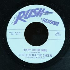 45bs Northern Soul-RUSH 604-Little Ben & the Cheers
