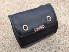 Vintage Schwinn Leather Tool Bag Saddle Bag Touring Seat Bag Pouch W/ Straps