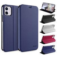Flip Case iPhone 11 6.1 Etui Magnet Cover Aufstellbar Ständer Hülle Schale Folie