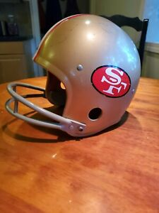San Francisco 49ers Rawlings Vintage Helmet Size-L