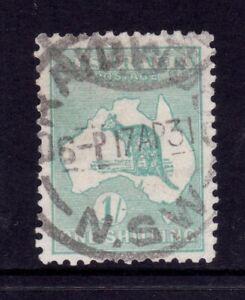 Kangaroo Used - SMW 1/- Green SG 109