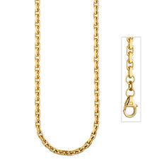 NEU 3 mm Ankerkette 333er Gelbgold 50 cm echt Gold Kette Halskette 333 8 Karat