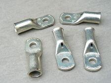 lot de 5 cosse tubulaire 70 mm² trou M8  cuivre etamé
