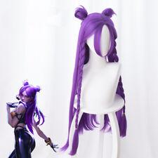 League of Legends Kaisa KDA Skin s8 Cosplay Kostüm Costume Perücke wig Purple