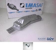IMASAF Auspuff Endtopf BMW 7er E32 730 i + 735 i 1986-1994