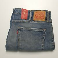 NWT Levi's Men's 502 Blue Wash Denim Shorts Size 38