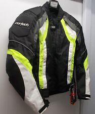 NOS Cortech VRX Textile Jacket Blk / HI VIZ Mens LG 44 8950-0113-06