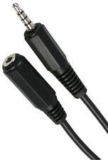 1m 3.5mm 4 Pin Digital Jack  Male Plug 4 Pole Jack female Socket Extension Lead