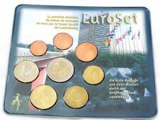Luxemburg KMS 2002 Euromünzensatz 1 Cent - 2 Euro im Blister
