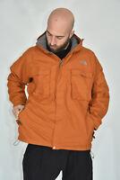 THE NORTH FACE Vintage Jacket Giubbotto Arancione In Nylon TG XL Uomo Man
