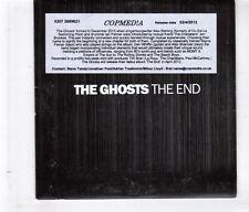 (HL146) The Ghosts, The End sampler - 2012 DJ CD