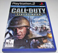 Call Of Duty Finest Hour PS2 PAL *No Manual*